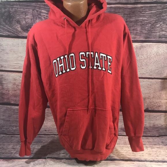 Steve Barry S Shirts Ohio State Hoodie Steve Barrys Mens Medium